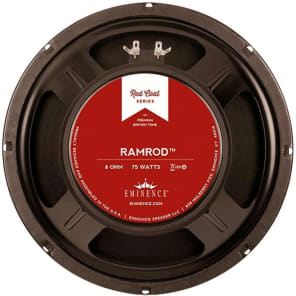 "Eminence RR10-8 Redcoat Series Ramrod 10"" 75-Watt Replacement Speaker - 8 Ohm"