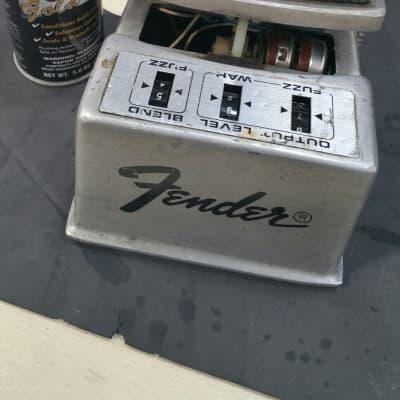 Fender  Fuzz Wah  70s  Silver