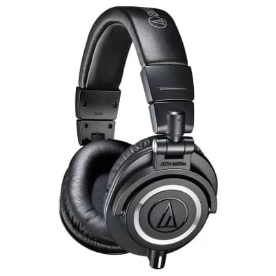 Audio Technica ATH-M50X - Professional Studio Monitor Headphones