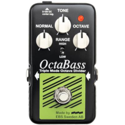 EBS OctaBass Blue Label Triple Mode Octave Divider Pedal