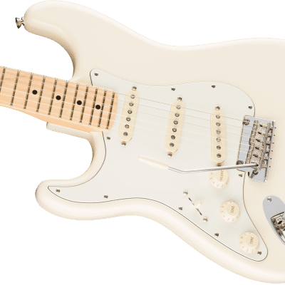 NEW! Fender American Professional Stratocaster Left Handed Olympic White Authorized Dealer Warranty