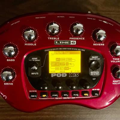Line 6 POD X3 Multi-Effect and Amp Modeler