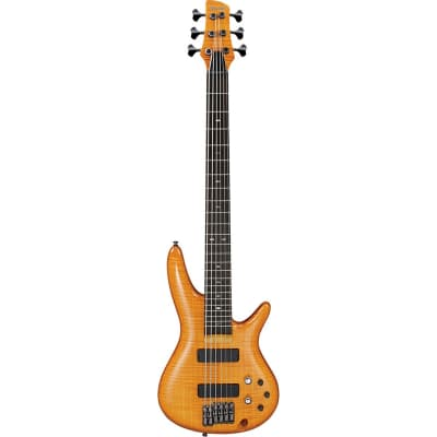 Ibanez GVB36 AM Gerald Veasley Signature Amber