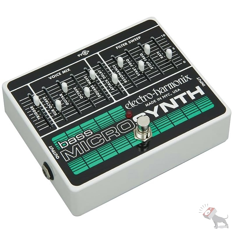 electro harmonix bass microsynthesizer analog microsynth reverb. Black Bedroom Furniture Sets. Home Design Ideas