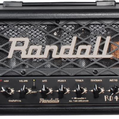 Randall Diavlo RD45H 2-Channel 45W All Tube Guitar Amp Head with Speaker Emulated Output for sale
