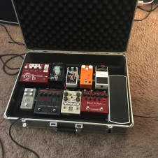 Pedaltrain 1 PT-1 Pedalboard with Hardshell Case