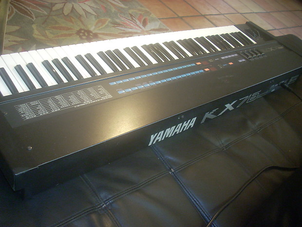 yamaha kx76 yamaha kx 76 midi master 76 key keyboard reverb. Black Bedroom Furniture Sets. Home Design Ideas