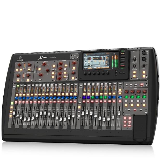 behringer x32 digital 32 channel mixer console reverb. Black Bedroom Furniture Sets. Home Design Ideas