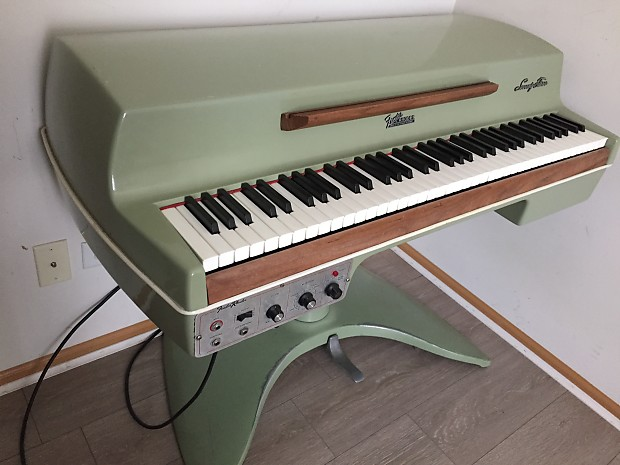 fender rhodes student piano 1969 green rare reverb. Black Bedroom Furniture Sets. Home Design Ideas