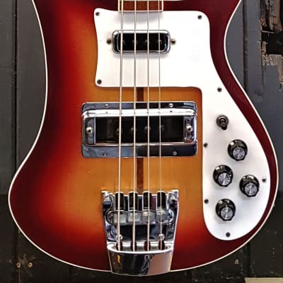 Rickenbacker 1982 4003 Fireglo Bass Guitar (Pre-Owned) for sale