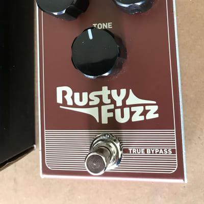 TC Electronic Rusty Silicon Fuzz Pedal