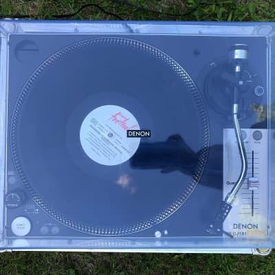 Denon Dj DP - DJ 151 Direct Drive Turntable 2000's Black