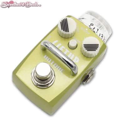 Hotone Skyline Liftup Clean Boost Micro Guitar Effect Pedal Stomp Box for sale