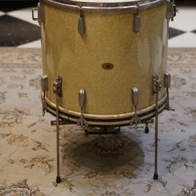 "Slingerland 16x20"" Cocktail Drum, Bass Drum - Gold Sparkle"