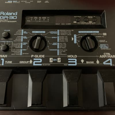 Roland GR-30 and GK-3 Synth brain & Pickup ??? Black