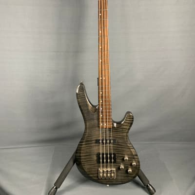 Ace Pro  4 string Bass  Not known  Charcoal Transparent for sale