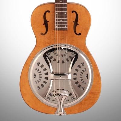 Epiphone Dobro Hound Dog Roundneck Resonator Guitar, Vintage Brown for sale