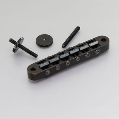 Gotoh Tune-o-matic Bridge Standard Post Black PGE-103BB