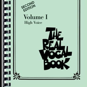 Hal Leonard The Real Vocal Book - Volume I, High Voice