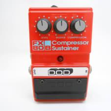 DOD FX80B Compressor Sustainer Guitar Effects Pedal Vintage