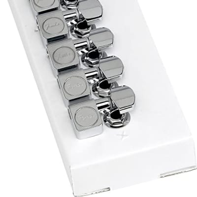 Fender Deluxe Tuners 2020 Chrome