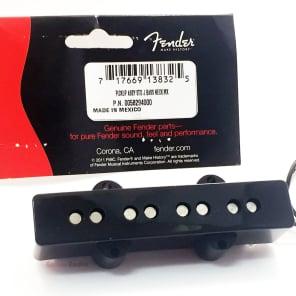 Genuine Fender MIM/Mexican Standard Black Jazz/J Bass NECK Pickup