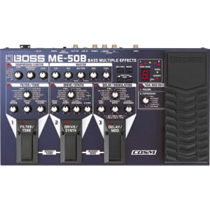 Boss ME-50B Bass Multi-Effects Pedal for sale