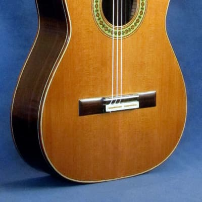 William Gourlay Romanillos-style classical guitar,