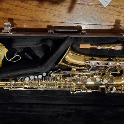 Yamaha YAS-23 Alto Saxophone Brass