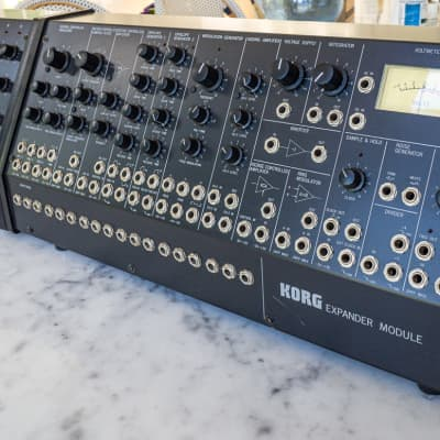 KORG MS-50 & SQ-10 Modular Synthesizer