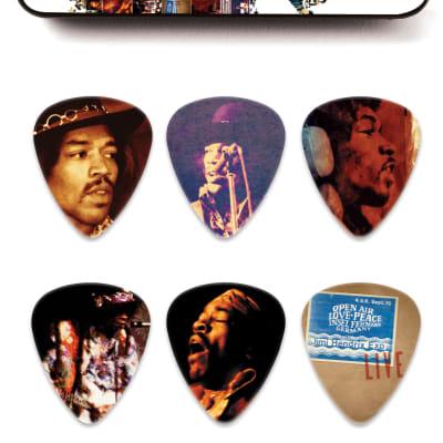 Dunlop JH-PT07M Jimi Hendrix Hear My Music Pick Tin - Medium