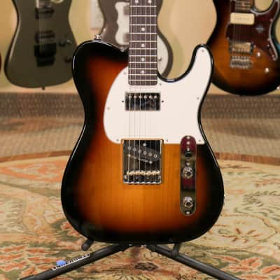 G&L ASAT Classic Bluesboy - Nitro 3 Tone Sunburst with Case - Preowned for sale