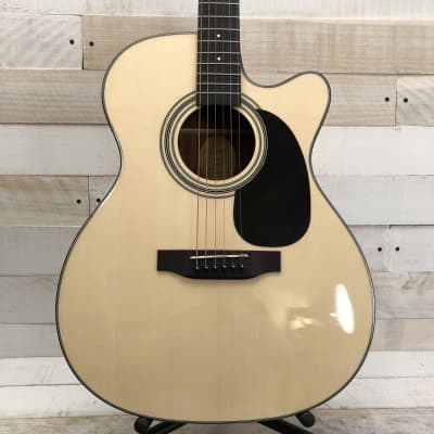 Bristol BM-16CE 000 Cutaway Acoustic-Electric Guitar w/Padded Gig Bag for sale