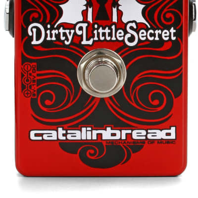 Catalinbread Dirty Little Secret Red Foundation Overdrive Pedal for sale