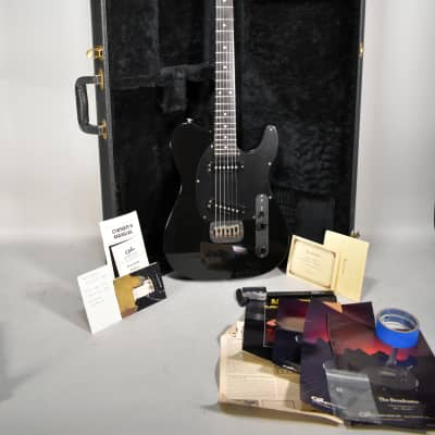 1985 G&L Broadcaster Black Finish Electric Guitar w/OHSC 339 of 869 for sale