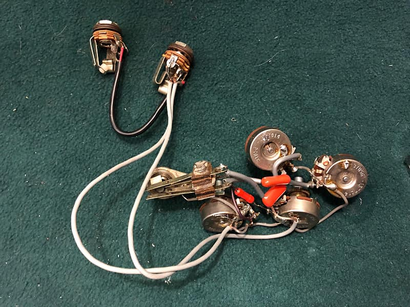 1974 Rickenbacker 4001 Wiring Harness Stereo Rick-O-Sound CTS | ReverbReverb
