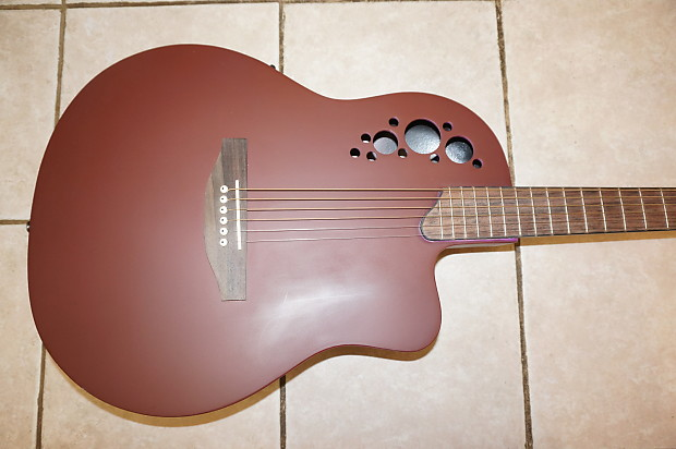 acoustic electric guitar custom body gl music store reverb. Black Bedroom Furniture Sets. Home Design Ideas