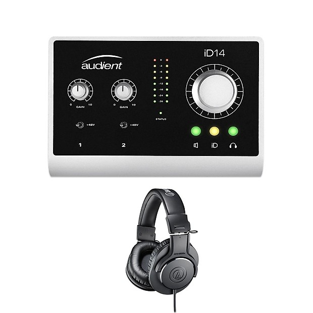 audient id14 high performance usb desktop audio interface reverb. Black Bedroom Furniture Sets. Home Design Ideas