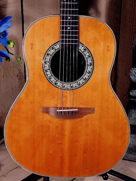 ovation 1111 4 balladeer 1973 usa acoustic guitar w case reverb. Black Bedroom Furniture Sets. Home Design Ideas