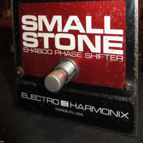Vintage Circa 1979 Electro-Harmonix Small Stone EH4800 Phase Shifter