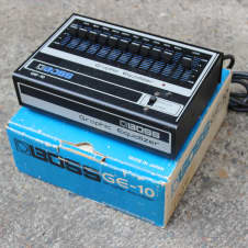 1970's Boss GE-10 Graphic Equalizer EQ MIJ Japan Vintage Effects Pedal w/Box