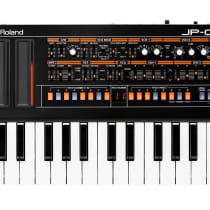 Roland Boutique Series JP-08 with K-25m Keyboard 2010s Black image