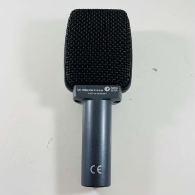 Sennheiser e609 Silver Supercardioid Dynamic Microphone *Sustainably Shipped*
