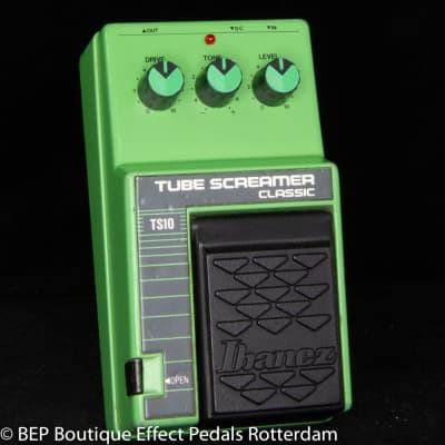 Ibanez TS-10 Tube Screamer Classic 1989 s/n 361537 Japan, JRC4558D as used by John Mayer and SRV
