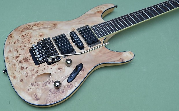 ibanez s series s770pb poplar burl natural flat guitar with reverb. Black Bedroom Furniture Sets. Home Design Ideas