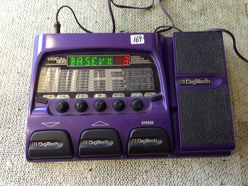digitech vocal 300 vocal effects processor purple reverb. Black Bedroom Furniture Sets. Home Design Ideas