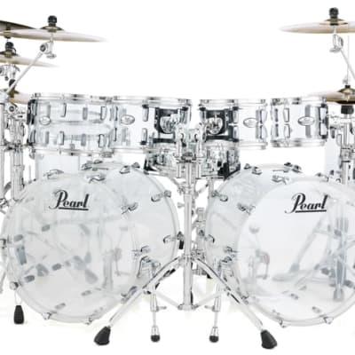 "Pearl Crystal Beat 14""x13"" Floor Tom ULTRA CLEAR CRB1413F/C730 Drum"