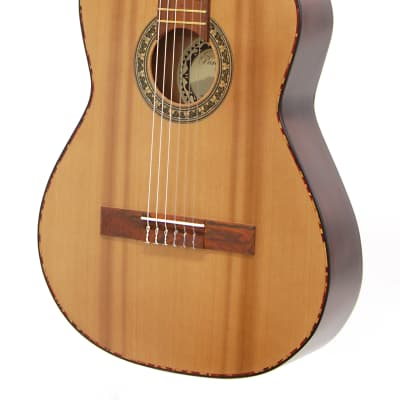 Paracho Elite Guitars San Benito E Cedar Top Class Nylon  Natural for sale
