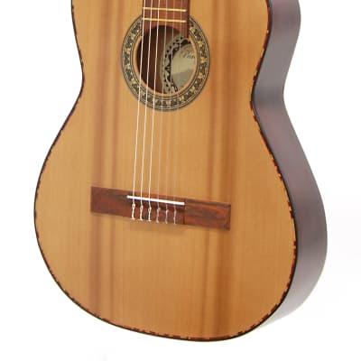 Paracho Elite Guitars San Benito E Cedar Top Class Nylon  Natural for sale