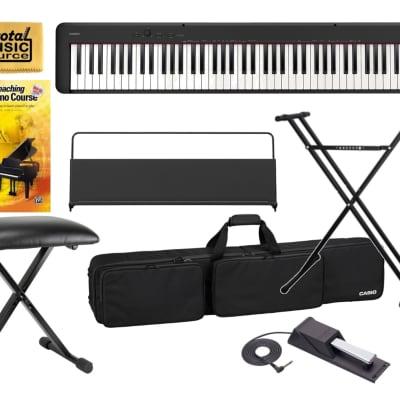 Casio CDP-S150 Compact 88-Key Digital Piano, Travel Bundle